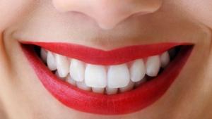 Smile, happiness, teeth, dental, lipstick