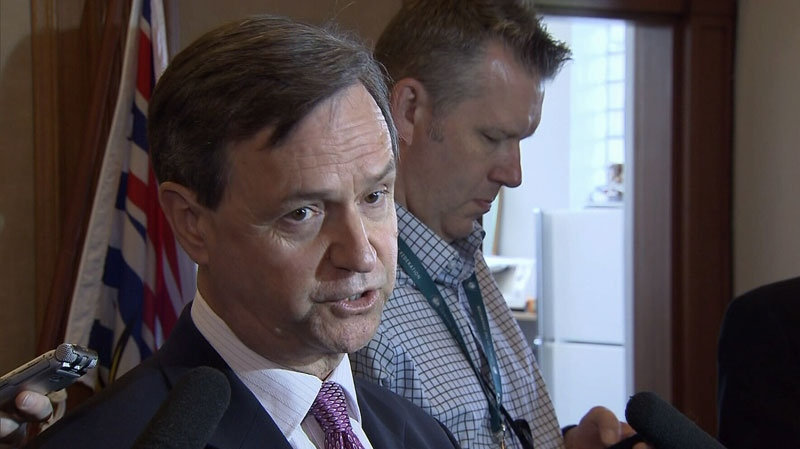 B.C. MLA George Abbott announces he will not run in the 2013 provincial election. Aug. 30, 2012. (CTV)