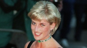 Princess Diana smiles as she arrives at the Tate Gallery in London to attend the Centenary Gala honoring the world-famous museum on July 1, 1997. (AP / Jacqueline Arzt)
