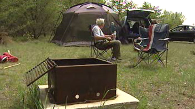 Camp site reservations in Manitoba are up this year over last year. (file image)