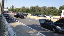 Expressway crash