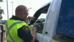 As long weekend travellers head out, the OPP says it will be watching.