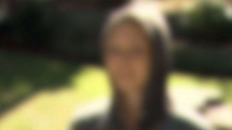 An alleged victim of human trafficking speaks to CTV News in an exclusive interview. Aug. 31, 2012.