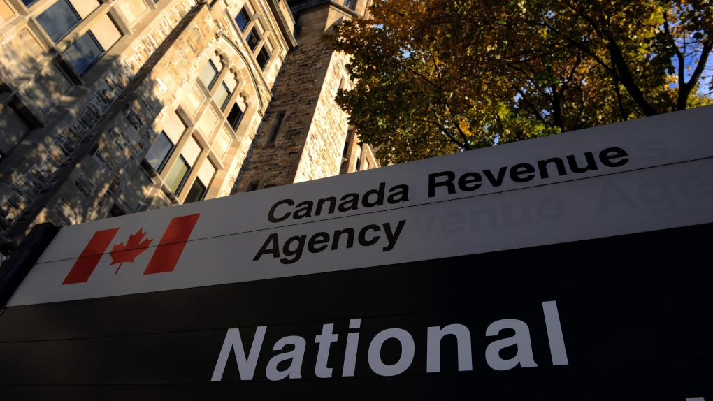 The Canada Revenue Agency headquarters in Ottawa is shown
