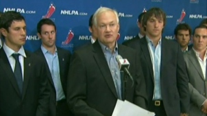 CTV News Channel: Lockout looms for NHL players