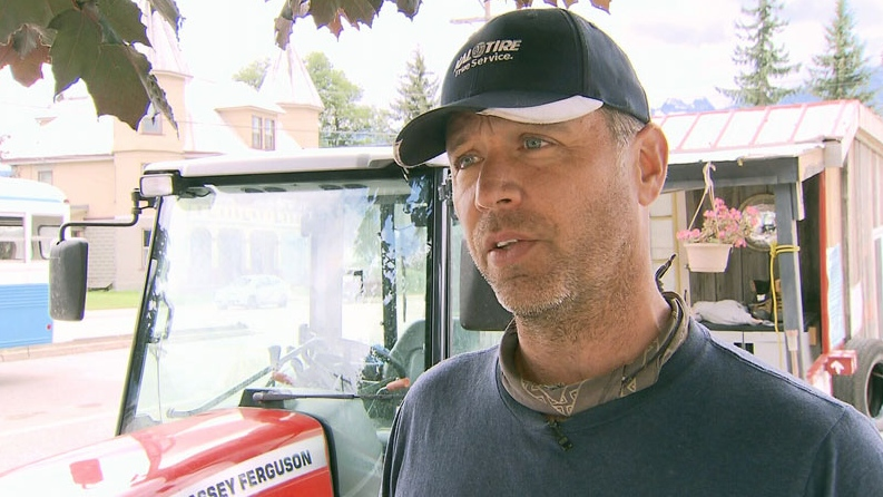 John Varty is creating a film on the Canadian family farm while on a countrywide journey, but has hit a roadblock in B.C. Sept. 1, 2012. (CTV)