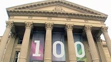 The Alberta Legislature building celebrates 100 years.