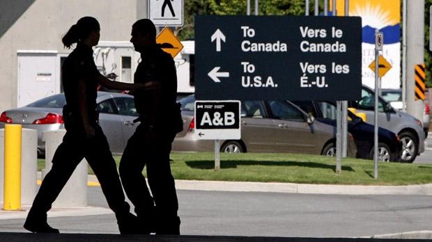 CBSA border guards