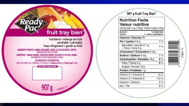 ready pac, fresh-cut fruit, product