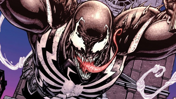This comic book image released by Marvel Comics shows the Marvel anti-hero Venom.