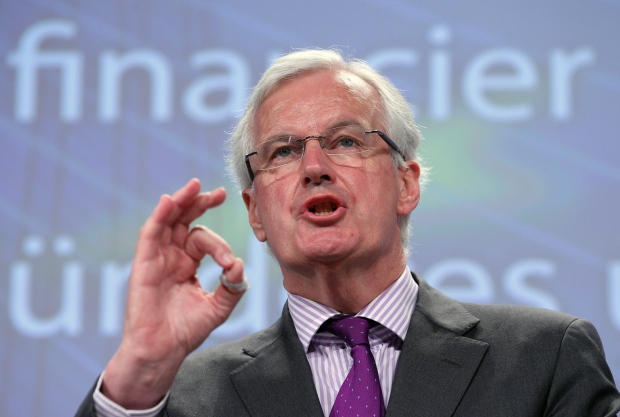 European Commissioner, Internal Market, Services, Michel Barnier