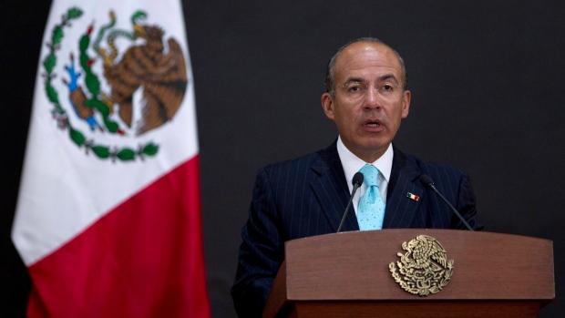 Mexico, President, Felipe Calderon, Mexico City