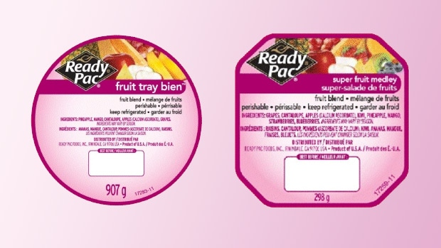 Ready Pac Fruit product recall.