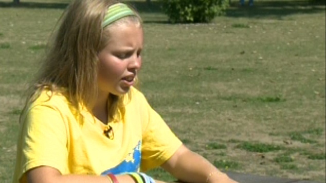 14 year old Annaleise Carr is now the youngest to conquer Lake Ontario