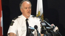 Insp. Jim McCaffer speaks to the media in St. Catharines, Ont. on Tuesday, Sept. 4, 2012.  Read more