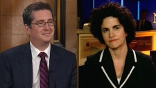Antonia Maioni and Graham Fox appear on CTV's Power Play on Tuesday, Sept. 4, 2012.