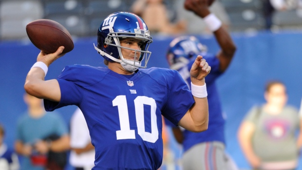 New York Giants, quarterback, Eli Manning