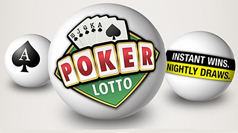 A screen capture from the OLG's Poker Lotto page.