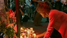 Montrealers hold vigil for victim