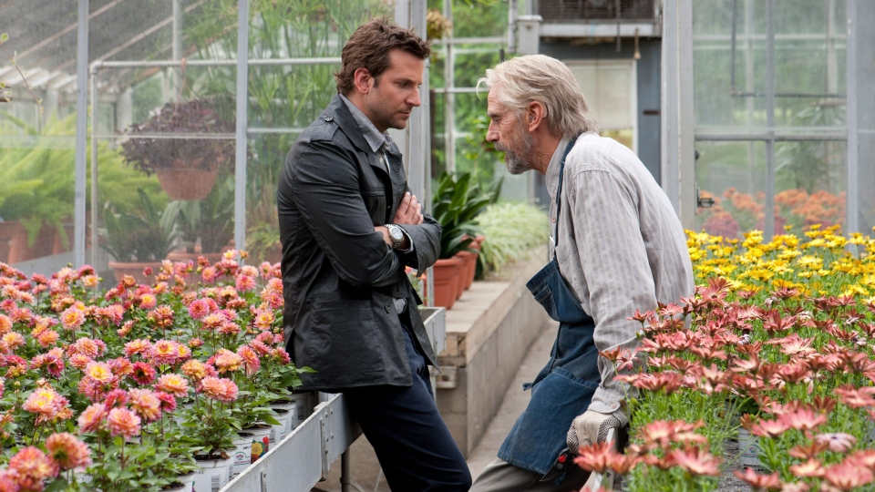 Bradley Cooper and Jeremy Irons in a scene from 'The Words.' (CBS Films)