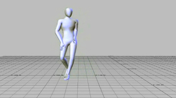 A 'good' dancer thus displays larger and more variable movements in relation to bending and twisting movements of their head/neck and torso, and faster bending and twisting movements of their right knee.