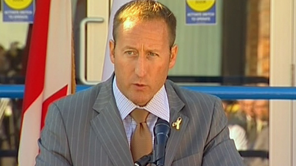 Defence Minister Peter MacKay speaks during an event in Esquimalt, B.C., Wednesday, Sept. 8, 2010.