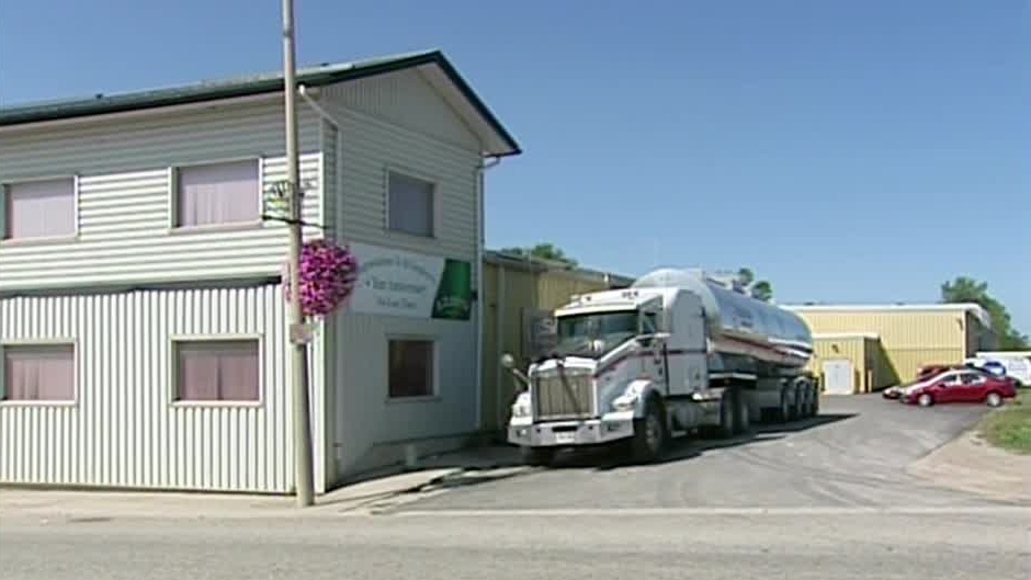 The E.D. Smith salad dressing plant is seen in Seaforth, Ont. on Thursday, Sept. 6, 2012.