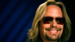 Recording artist Vince Neil poses for a portrait in New York, Tuesday, June 22, 2010. (AP Photo/Jeff Christensen)
