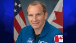 Canadian astronaut David Saint-Jacques is shown in this photo courtesy of the Canadian Space Agency.