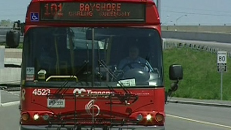 The projects include building a dedicated transitway from Bayshore Station to Moodie Drive.