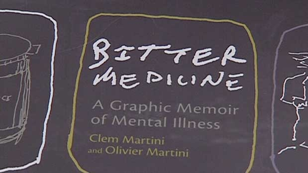 is Bitter Medicine: A Graphic Memoir of Mental Illness by Clem Martini and Olivier Martini.