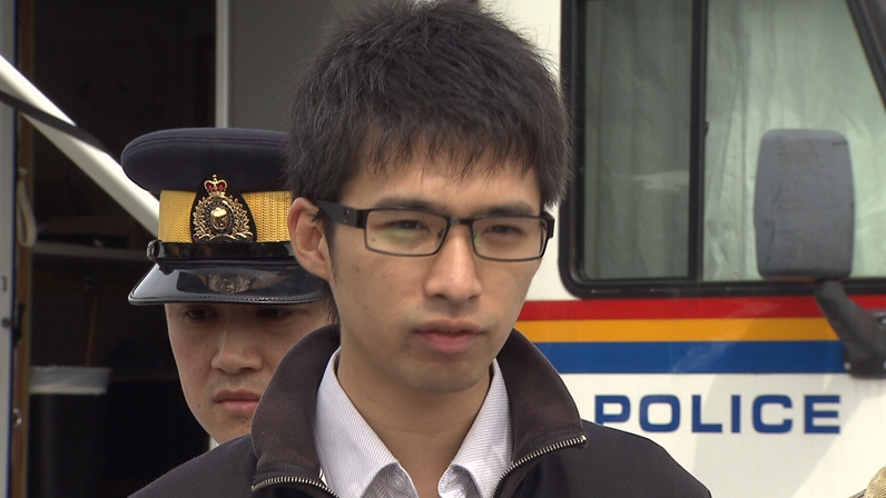 """Yuan Xi """"Will"""" Tang has been charged with the first-degree murder of his mother who went missing from Richmond, B.C. in June. Sept. 7, 2012. (CTV)"""