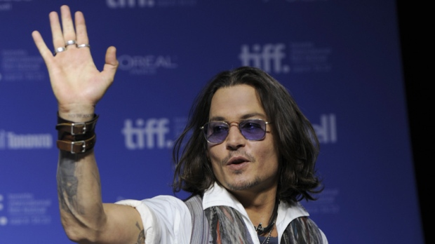 Johnny Depp participates at the Toronto International Film Festival on Sept. 8, 2012.