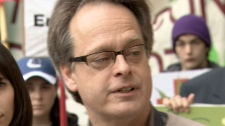 Marc Emery is seen outside the B.C. Supreme Court in Vancouver, Monday, May 10, 2010.