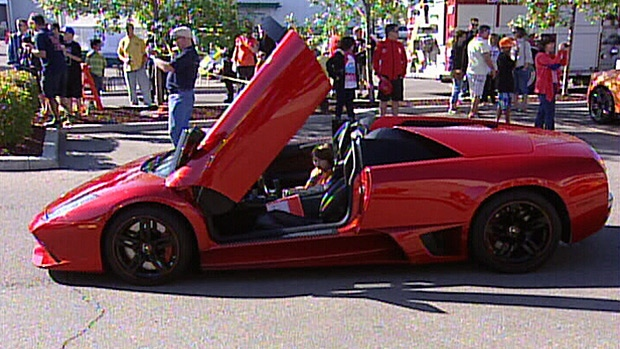 Stollery Kids Go For Special Ride In Exotic Cars Ctv Edmonton News