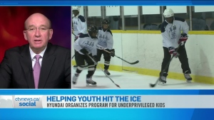 CTV News Channel: Helping youth hit the ice