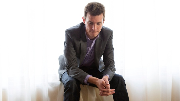 Writer and Director Josh Boone poses for a photo as he promotes the movie 'Writers' during the 2012