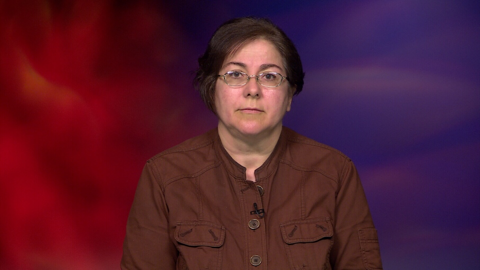 Antonella Mega, the wife of Hamid Ghassemi-Shall who is on death row in Iran,  speaks to CTV News.