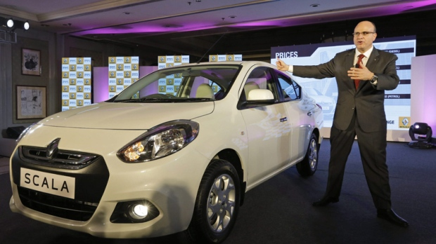 Marc Nassif, Managing Director of Renault India in New Delhi, India, Friday, Sept. 7, 2012.