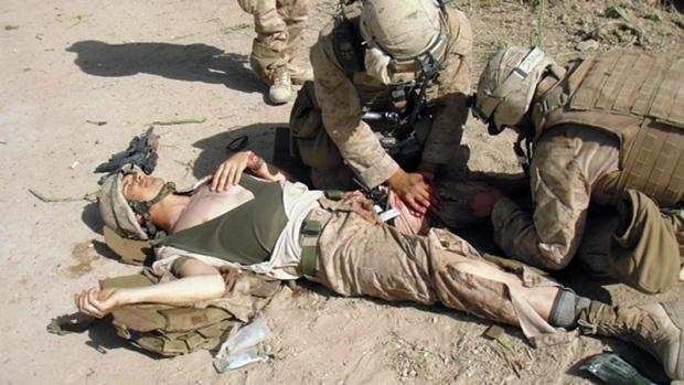 Marine Sgt. Ron Strang