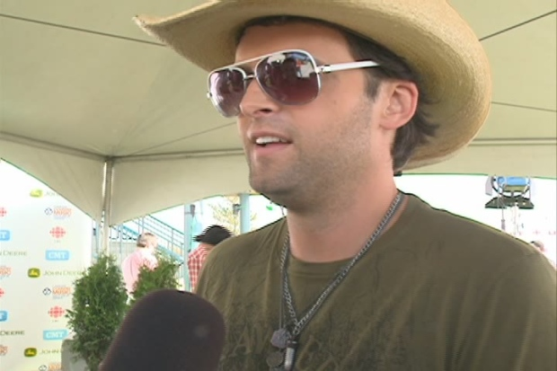 Dean Brody expects fun on first tour