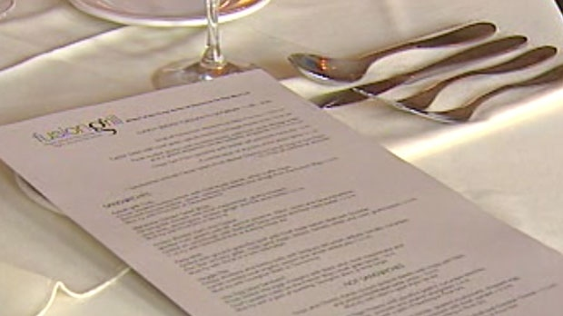 Provincial officials said they are in favour of calories on menus and plans are in the works to collaborate with the restaurant industry for implementation.