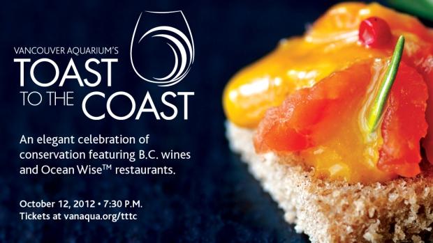 Vancouver Aquarium's Toast to the Coast