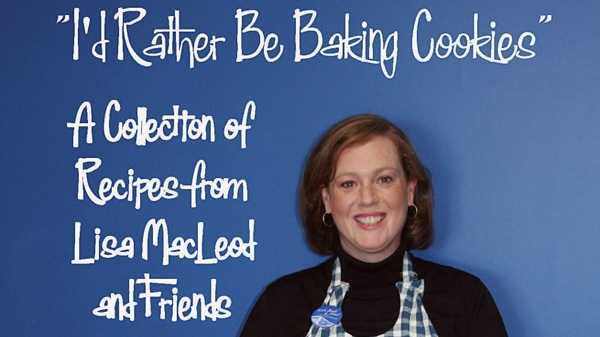 The cover of I'd Rather Be Baking Cookies is shown in this undated image. (THE CANADIAN PRESS/HO)