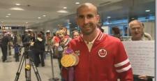 Beniot Huot medals