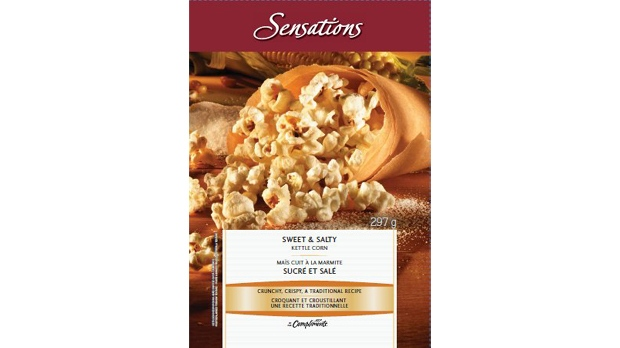 compliments brand sweet and salty kettle corn