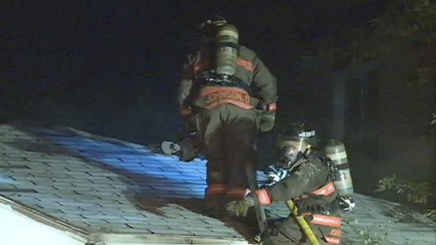 A fire at a house on the 1900 block of 22nd Street West Monday night is being called suspicious.