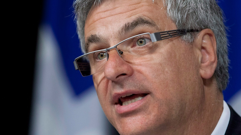 Quebec Justice Minister Jean-Marc Fournier in Quebec City on Wednesday, June 13, 2012. (THE CANADIAN PRESS/Jacques Boissinot)
