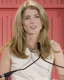 Caroline Kennedy speaks at American Museum of Natural History in New York on Oct. 10, 2006. (AP / Stephen Chernin)