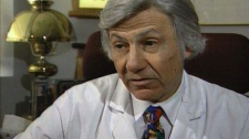 Dr. Norman Barwin is being sued. He's accused of using the wrong sperm to inseminate two women.